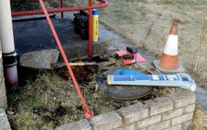 Sewer inspection Aberdeen